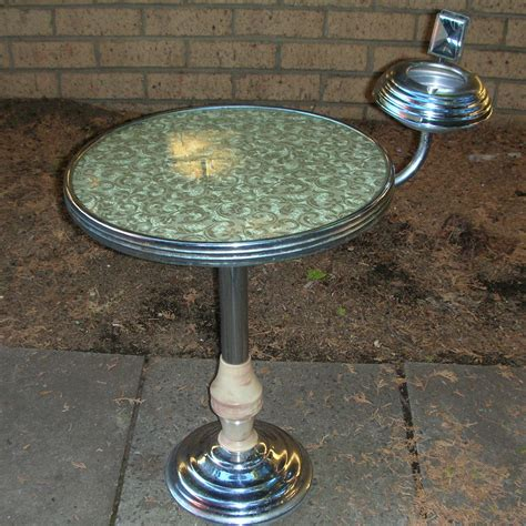art deco table ls art deco smokers table with ashtray tables occasional