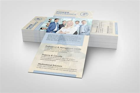 Rack Card Template Psd by Rack Card Mockup Graphicriver Products Mock Up