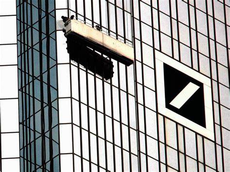 schließfach bei der bank betrug bei gesch 228 ften der deutschen bank wirtschaft