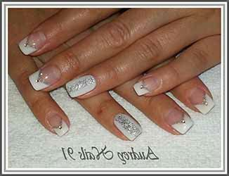 deco ongle argent ongles argent