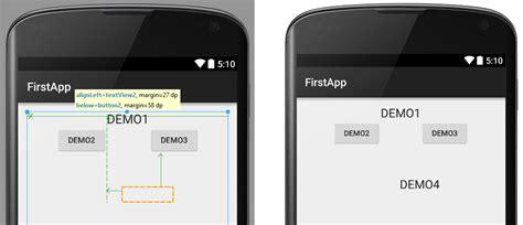relativelayout là gì c 243 mo crear layouts en android