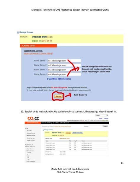 membuat toko online dengan idhostinger membuat toko online gratis dengan cms prestashoop