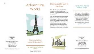 travel brochure templates free 8 best images of brochure sle free printable state