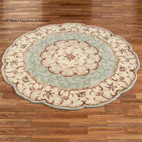scalloped rug emmalee scalloped rugs