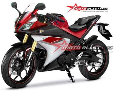 r15 new version latest rendering of yamaha yzf r15 version 3 maxabout news