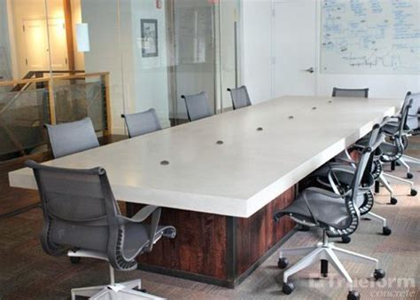 Concrete Conference Table Pinterest The World S Catalog Of Ideas