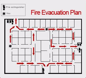 fire evacuation floor plan sandiegosigns comemergency evacuation plans
