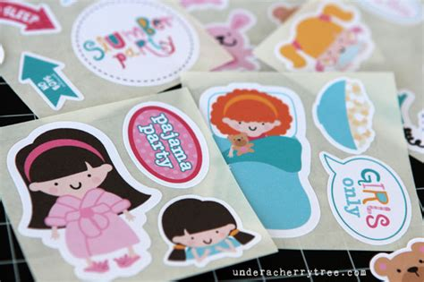 How To Make Stickers With Sticker Paper - a cherry tree jin s make your own stickers