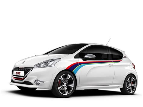Peugeot Racing Aufkleber by Peugeot 208 Gti Rally Side Stripe Graphics Decals
