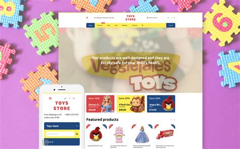 Shopify Themes Toys | baby toys shopify theme