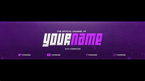 Youtube Banner Cover Template Photoshop Download Free Tech Onn Banner Template Photoshop