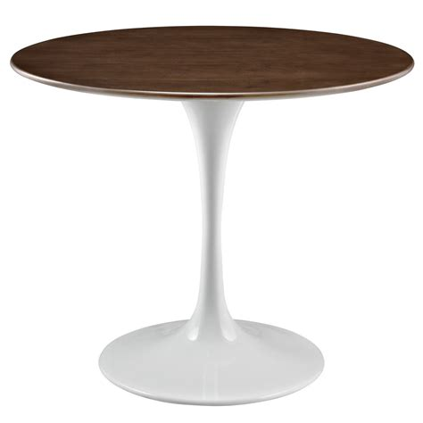 round walnut lippa 36 quot round walnut top dining with lacquered