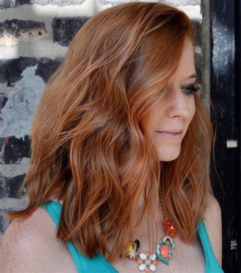 selengense shoulder length hair 60 fun and flattering medium hairstyles for women red