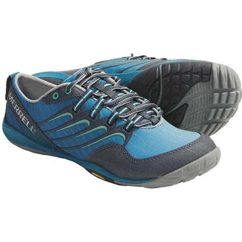 barefoot running shoe merrell barefoot trail lithe glove running shoes for