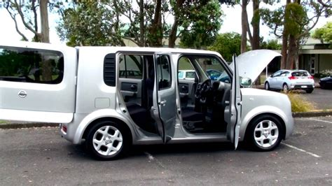 nissan cube  sx  auto youtube