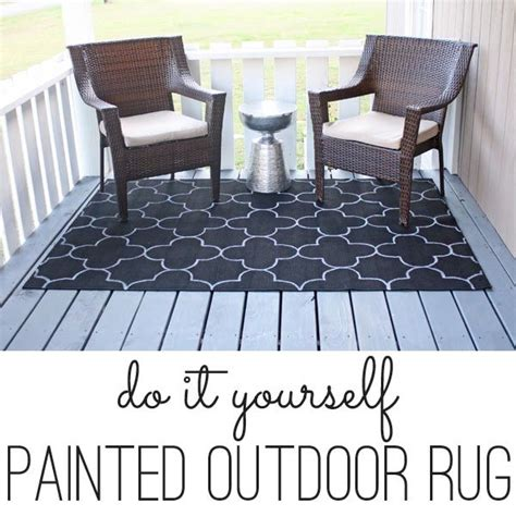 Painting An Outdoor Rug Painting An Outdoor Rug Without A Stencil Outdoor Outdoor Rugs And Quatrefoil