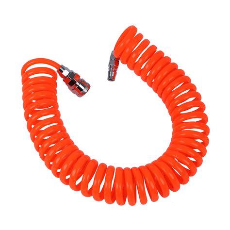 Recoil Hose With Selang Kompresor 6m Top Quality 6m 19 7ft 8mm x 5mm pu recoil hose for compressor air tool p6m2 ebay