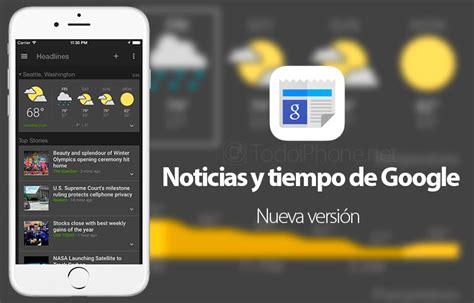 App Que Resume Noticias Llegan Los Widgets A La App Noticias Y Tiempo De