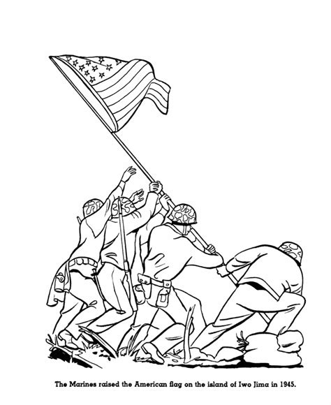 bluebonkers armed forces day coloring page sheets iwo