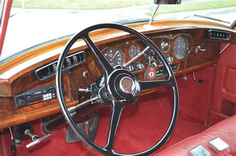 roll royce leather 1960 silver cloud ii restored 4 door convertible lhd ac