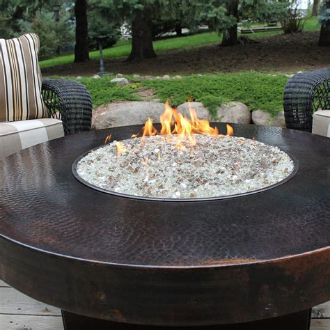 oriflamme hammered copper firepit 48 quot dia