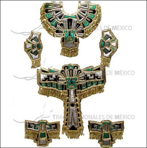 imagenes de trajes aztecas para hombres traje de azteca o conchero en tela met 225 lica color verde