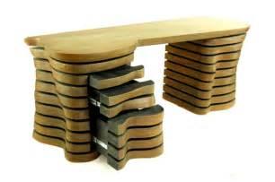 meuble de bureau en bois design et original