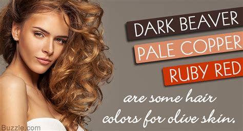 hair color ideas for skin flaunt your olive skin tone with these amazing hair color