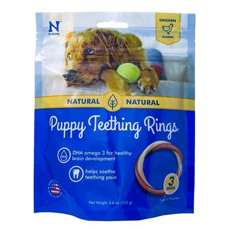n bone puppy teething ring n bone usa puppy chicken teething ring treats 3 count naturalpetwarehouse