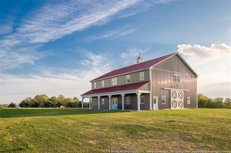 two story pole barn two story pole barn with colonial abseam roof and