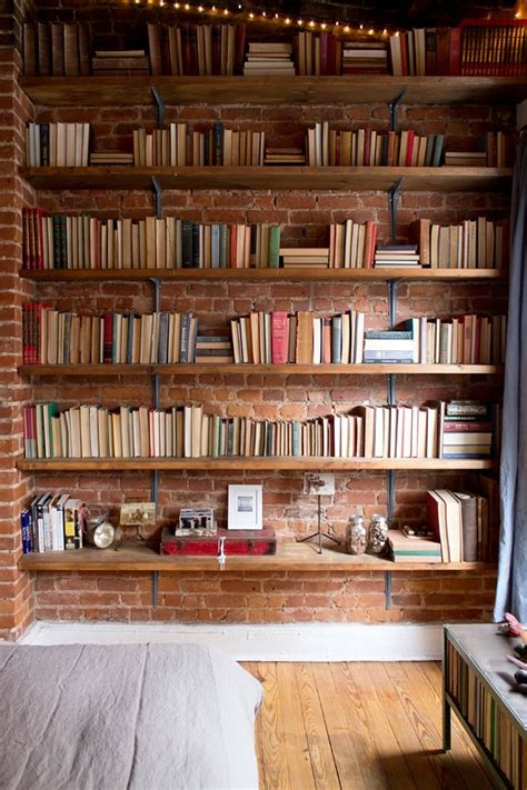 Wall To Wall Shelving Best 20 Bookshelves Ideas On Bookshelf Ideas