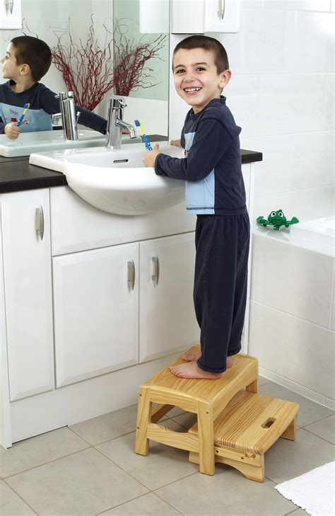 Wooden Bathroom Step Stool by Safety 1st Wooden Step Stool Baby Child Bathroom Potty