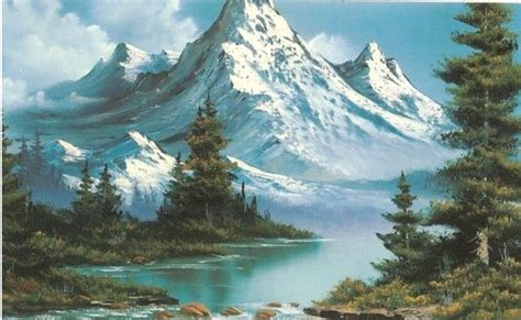 bob ross paintings with acrylics 187 best paintings bob ross images on bob