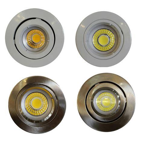 Lu Downlight Led 9 Watt 9 watt gu10 recessed cob led dimmable downlight kit gu10