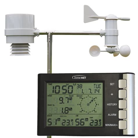 track the weather at home with your own weather station