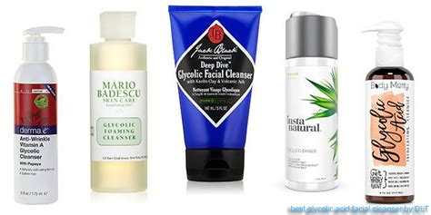 best cleanser 10 best glycolic acid cleansers dlt