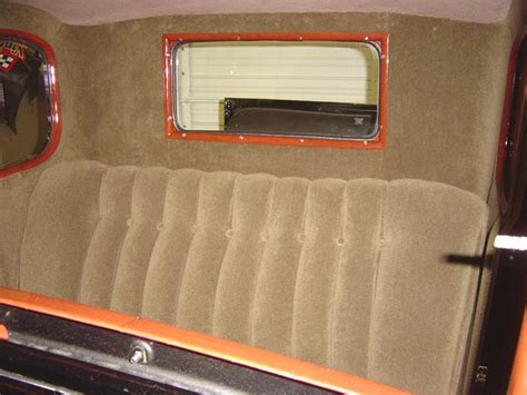 Upholstery Installation by 1930 Ford Coupe