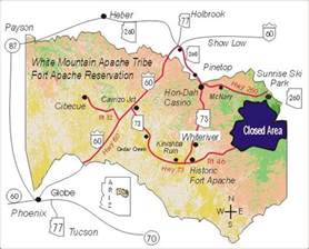 thanks to the white mountain apache tribe for giving