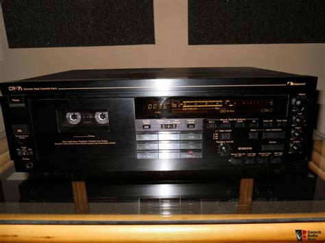 cassette deck nakamichi cr7 cassette deck photo 224029 canuck audio mart