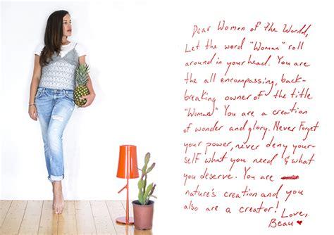 lettere di donne lettera di una donna alle donne i green inspiration
