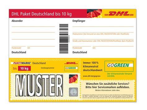 Paketaufkleber Drucken Vorlage by Paket Unfrei Versenden Sendungen Ohne Frankierungen