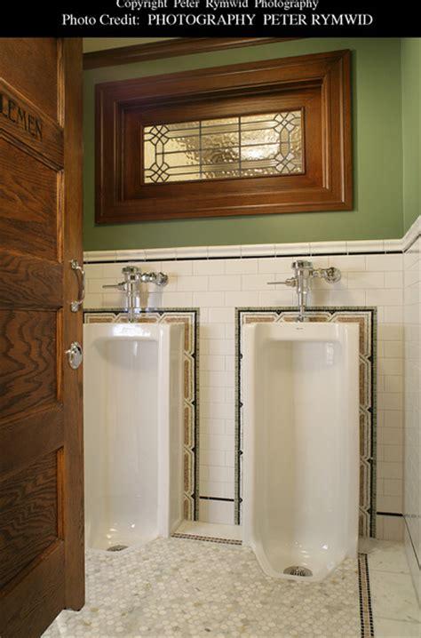pubs with rooms bath pub bath gentlemen s stalls craftsman bathroom new york by carisa mahnken design guild