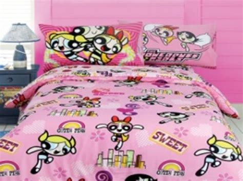 powerpuff bedding network comforter 3 set powerpuff