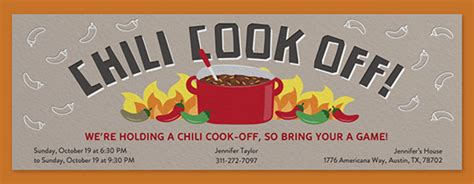 chili cook template free invitations free ecards and planning ideas from evite