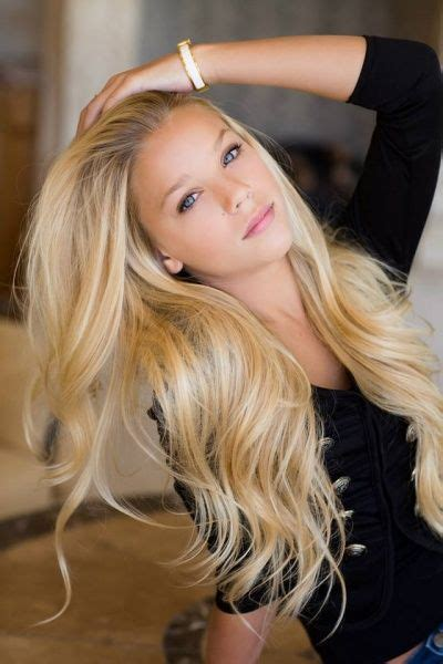 gorgeous long blonde hair i m raylynn floyd i m 14 and single i m a dancer and a