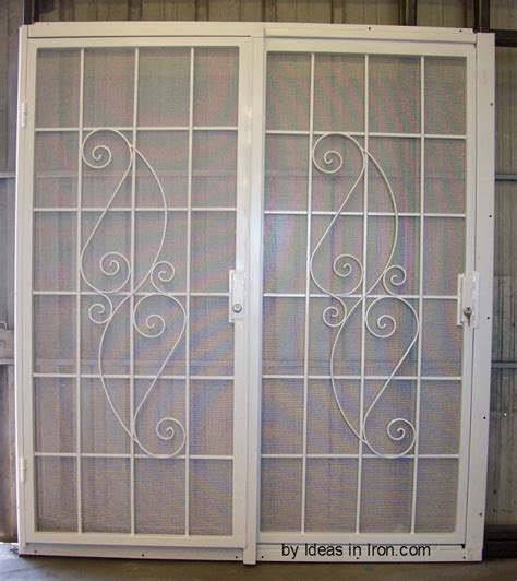 Patio Security Door by Pictures