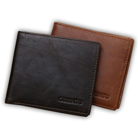 Best Leather by Top Quality Genuine Leather Wallet Purse Vintage Mens