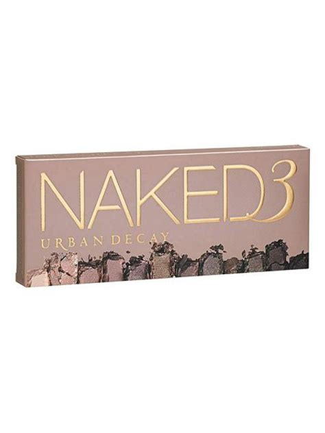 Naked3 3 Limited decay 3 palette house of fraser