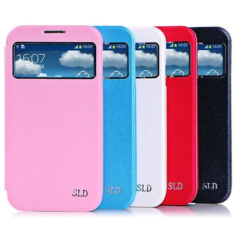 Baterai Samsung S4 Sulada Smart Leather Window Series For Samsung Galaxy S4 White Jakartanotebook