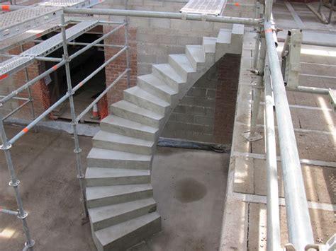spiral concrete stairs modern london by ej brennan